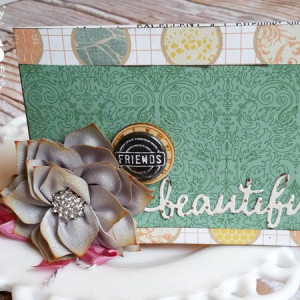 Beautiful Friends Card