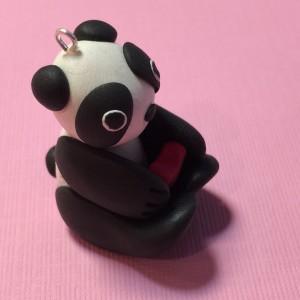 Jojo The Polymer Clay Panda Charm