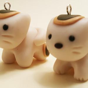 Neko Cat Polymer Clay Charm