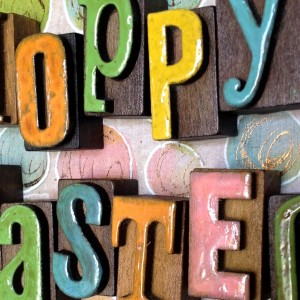 Hoppy Easter Wreath Plaque