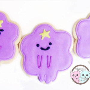 Adventure Time Cookies: Lumpy Space Princess!