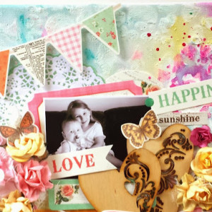 Love & Happiness Canvas