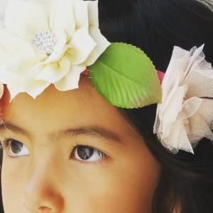 Kid's Flower Hair Garland