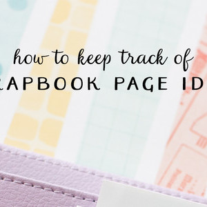 Scrapbook Page Planning