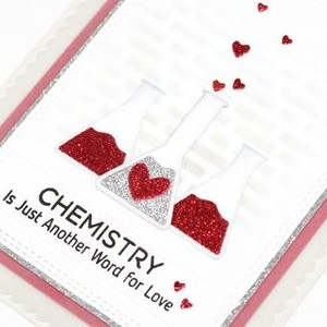 Valentines Glitter Card
