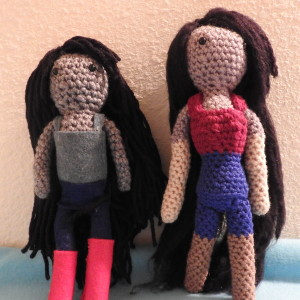 Marceline Amigurumi: Then And Now