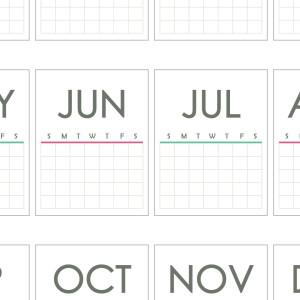 New Year Planning - Calendar