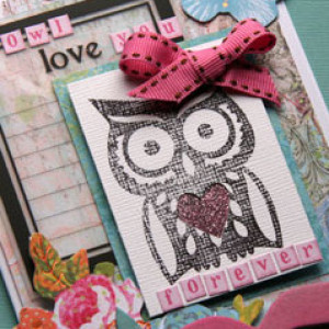 A Valentine Shaker Card