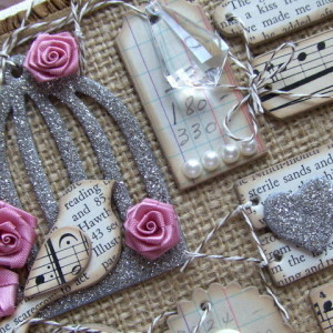 Mini Chipboard Tag Set