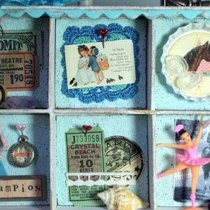 An Old Fashioned Trinket Shadowbox