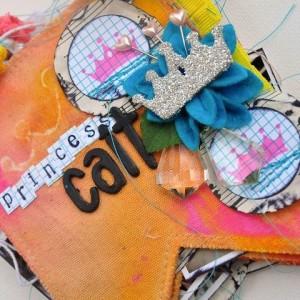 """Princess Cait"" Pennant Banner Album"