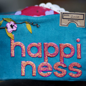 Happiness Canvas Album