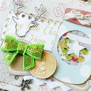 Christmas Canvas Mini Album